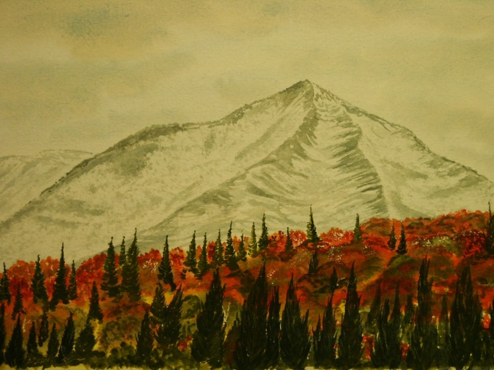 White Face mountain in the Fall