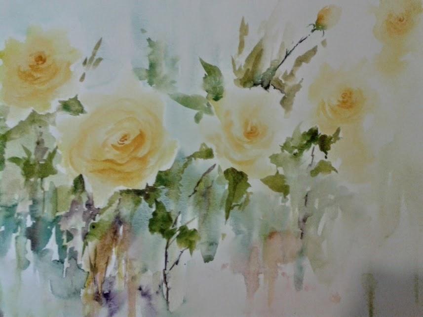 Yellow Roses (Large version)