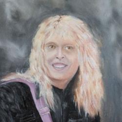 Lizbeth - Oil on Canvas Board