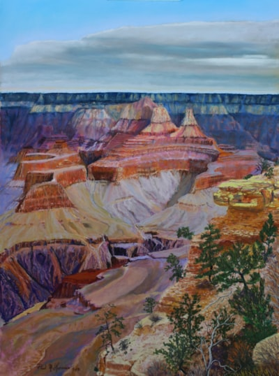 The Majestic Canyon and its Colors