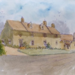 Cotswold Cottages from the Summer 2019 issue of Leisure Painter