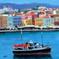 Black Ship at Chania