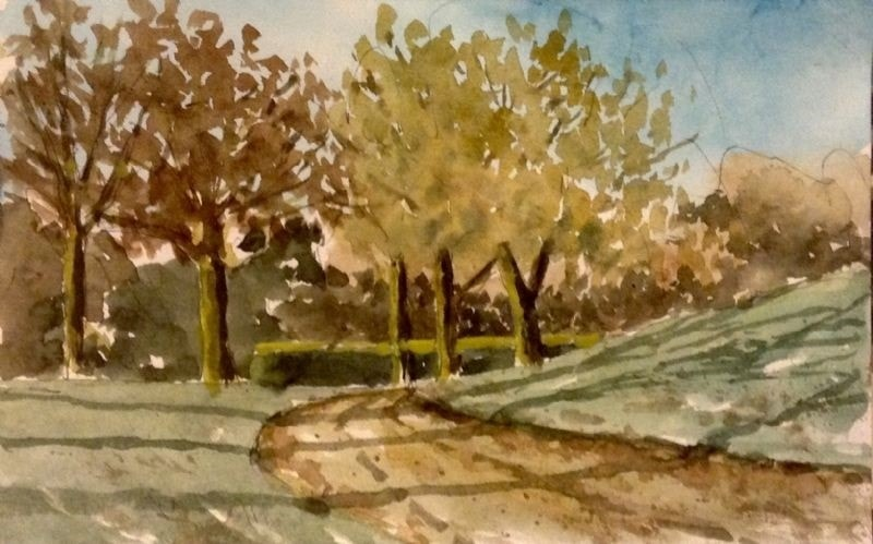 Autumn in the park 3