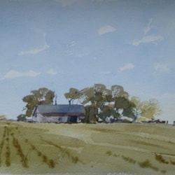 Barn, after James Fletcher Watson