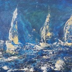 Pyefleet Week Brightlingsea Sailing Club BODS - stormy seas