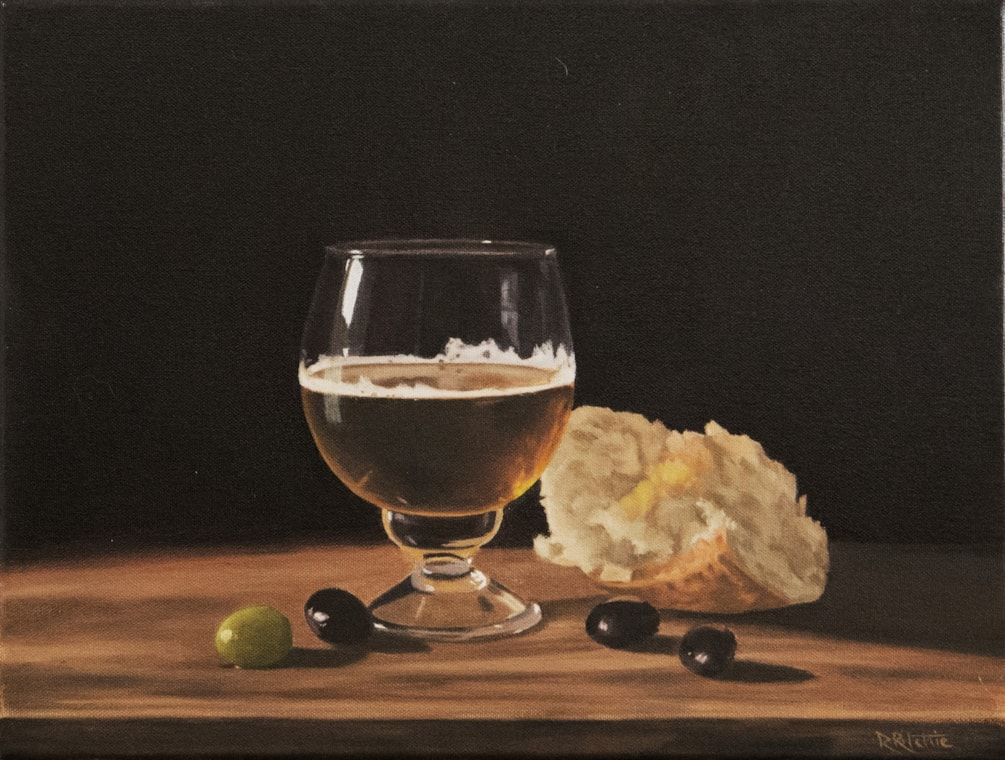 'Beer, Bread and Olives'