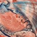 Encaustic Wax Seashell
