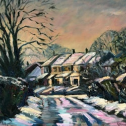 New Lane, Croft under Snow