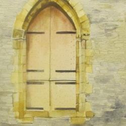 Old Ruin door, Llangollen