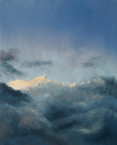 Storm Clouds Receding.