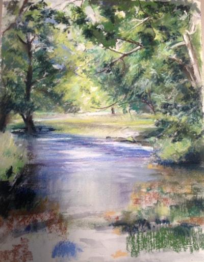 Cumbrian stream, Newlands, Keswick