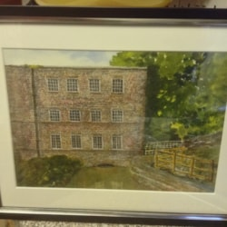 End part of cromford mill