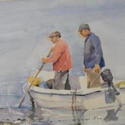 Fishermen, Town Beach