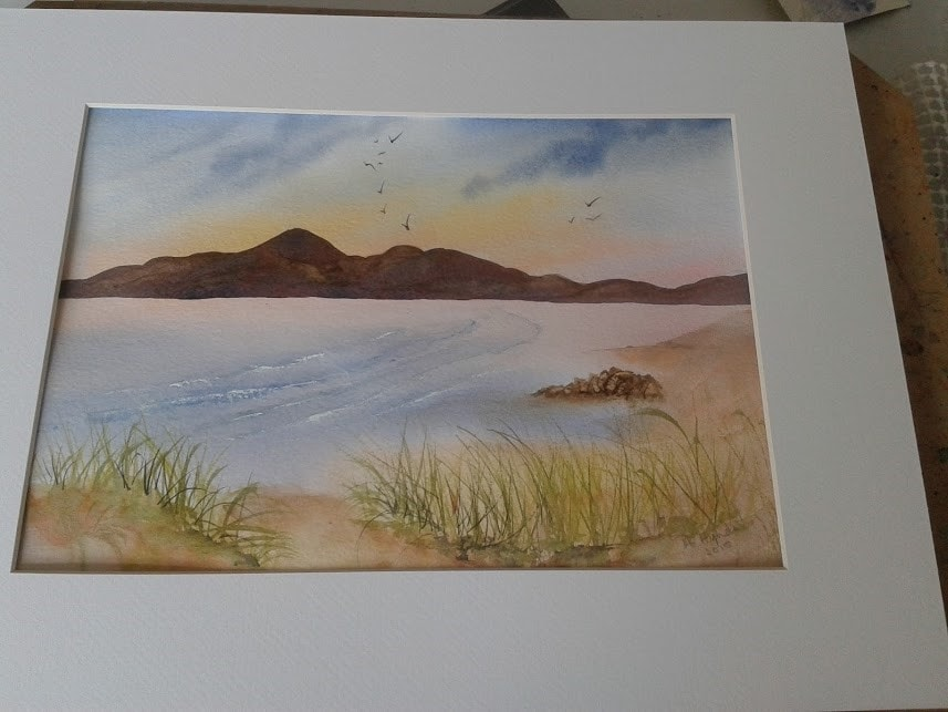 Mournes from Murlough Bay