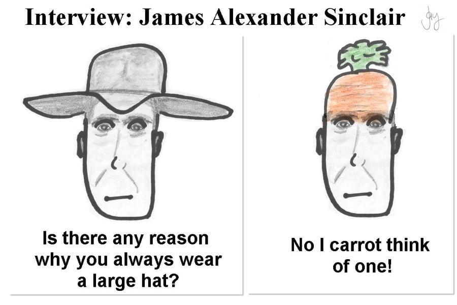 Interview: James Alexander Sinclair