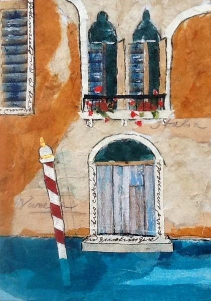 Venetian Facade - Collage