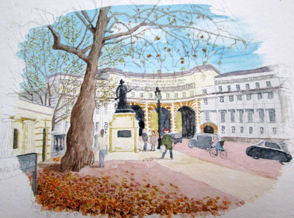 Admiralty Arch from the Mall (London)