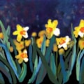 Daffodils from my iPad