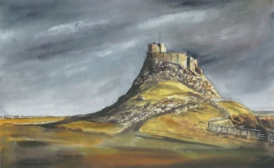 Lindisfarne Castle - after the storm.