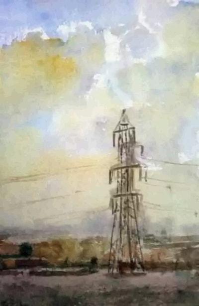 Pylon near Hull