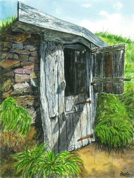 fishermans hut , Morwenstow, Cornwall