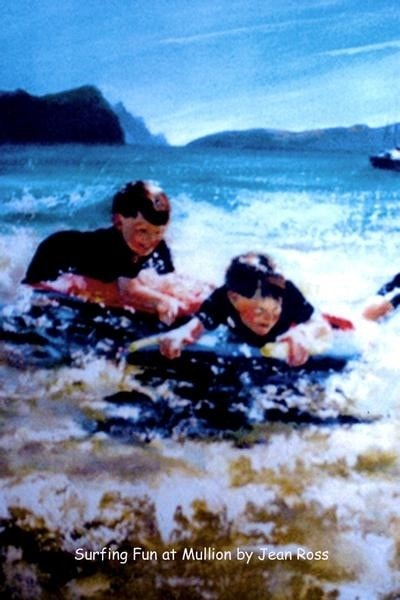 Surfing Fun at Mullion