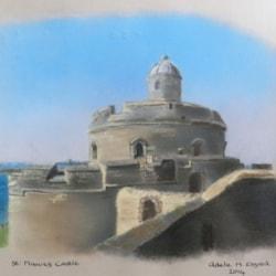 St. Mawes Castle - PASTEL!!