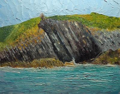 Welsh Coast Off Tenby