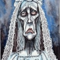 Miss Haversham - Dickens group- 6 x 4 inches