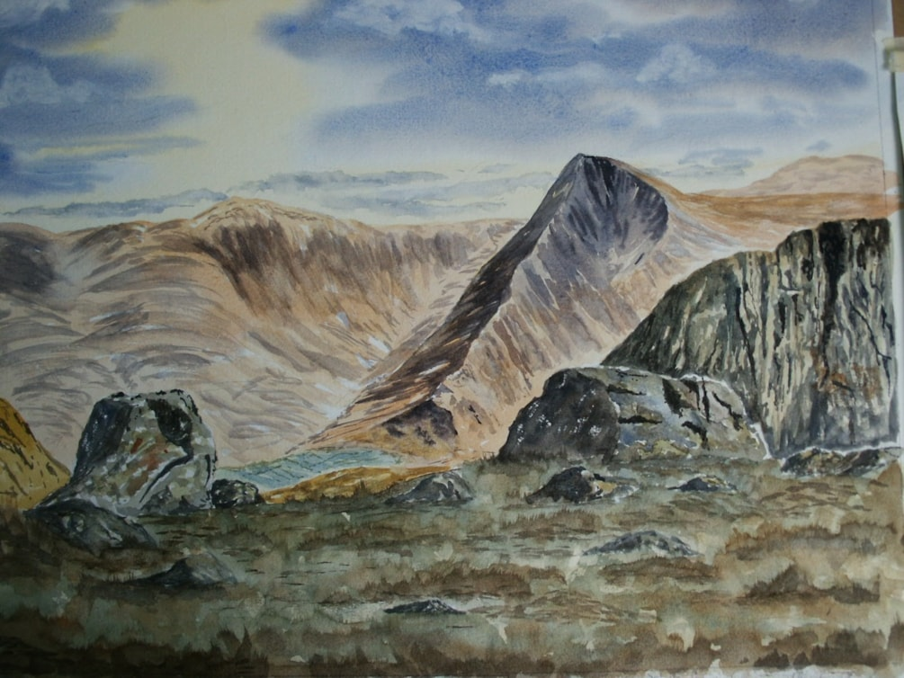 Fleetwith Pike from High Style