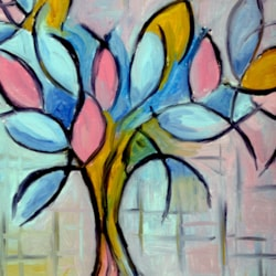 Mondrian style abstraction