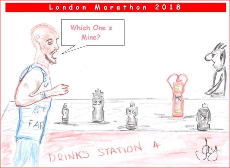 Mo Farah - London Marathon 2018