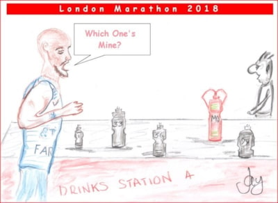 Mo Farah - London Marathon 2018