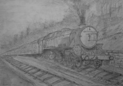 Black 5 climbing up to Goathland on the NYMR