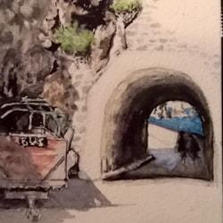 Mazeline tunnel, Sark, Channel Islands