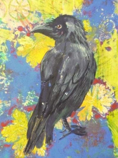 Crow Print 2