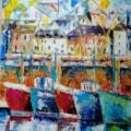 Newlyn, working boats ©