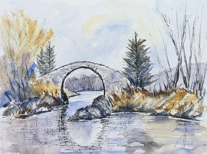 Old Roman Bridge - for Michael Mc