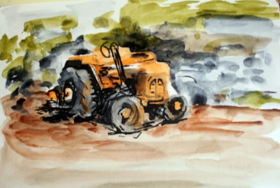 The Yellow Tractor