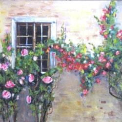 Rose (Leonetta Rossi  Painter )cm 40 x 50