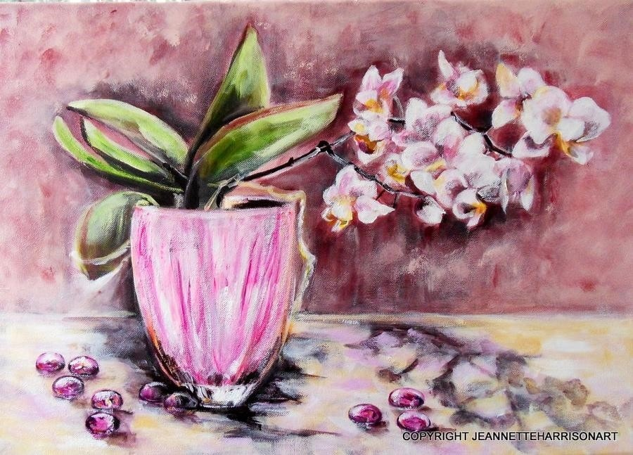 Orchid and Beads