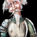 Don Quihote sketch. (A4 sketchbook)