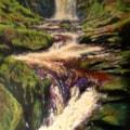 Llanrhaeadr Falls 3; Last Cascade