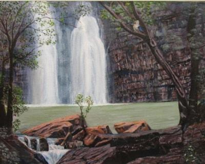 Black rock falls, Kimberley WA