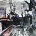 Hull Dock Evening