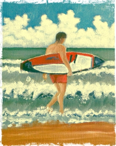 'We surf here as well'