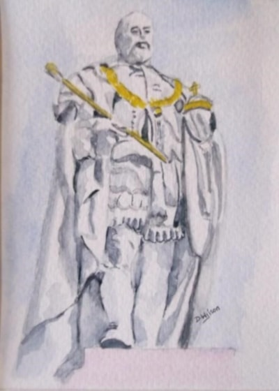 King Edward V11 Statue Aberdeen