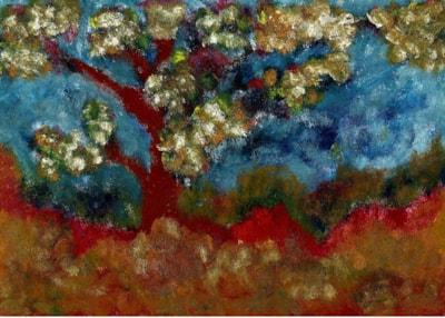 Fantasy - My tree in oil