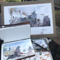 Portmeirion Plein Air Watercolour and sketch