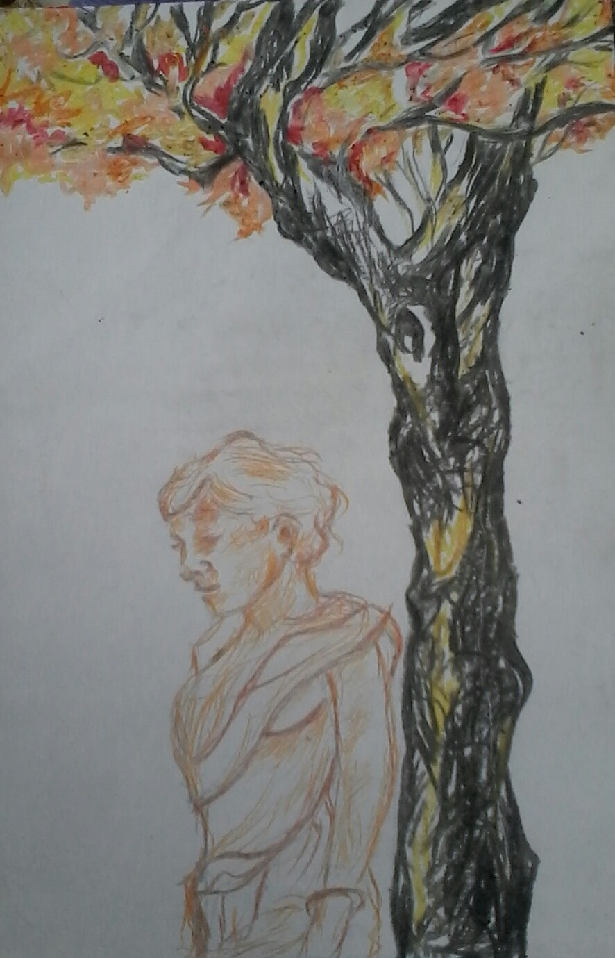 Lady & Tree